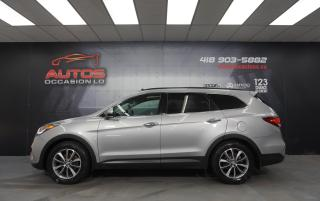 Used 2017 Hyundai Santa Fe XL AWD LUXURY 3.3L + 7 PASSAGERS + CUIR TOIT GPS NAVI for sale in Lévis, QC
