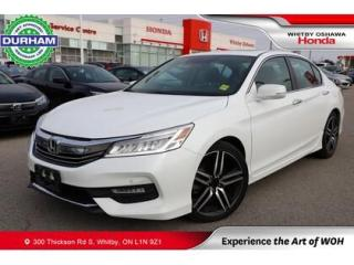 Used 2017 Honda Accord w/Honda Sensing for sale in Whitby, ON