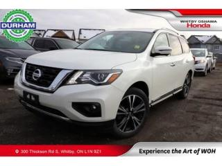 Used 2018 Nissan Pathfinder Platinum for sale in Whitby, ON