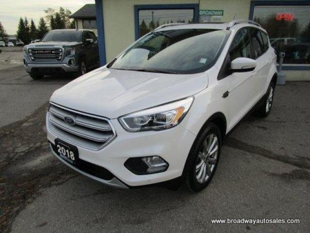 2018 Ford Escape FOUR-WHEEL DRIVE TITANIUM EDITION 5 PASSENGER 2.0L - ECO-BOOST.. NAVIGATION.. LEATHER.. HEATED SEATS.. PANORAMIC SUNROOF.. BACK-UP CAMERA.. SONY..