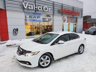 Used 2015 Honda Civic Si *** SPORT 4 PORTES *** TOIT OUVRANT *** 8 PNEUS ET 8 MAGS for sale in Val-d'Or, QC
