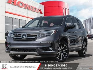 New 2021 Honda Pilot Touring 7P REMOTE STARTER | IDLE STOP | GPS NAVIGATION for sale in Cambridge, ON