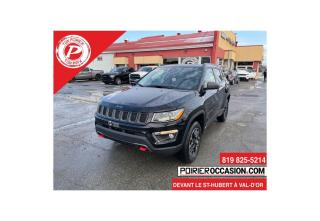 Used 2018 Jeep Compass TRAILHAWK TOIT PANORAMIQUE for sale in Val-D'or, QC