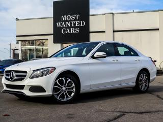 Used 2017 Mercedes-Benz C 300 4MATIC|BLIND|NAV|PADDLE|ALOY|SUNROOF|CAMERA|XENONS for sale in Kitchener, ON