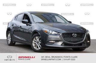 Used 2018 Mazda MAZDA3 Sport GS Auto - CAMERA / BLUETOOTH / PNEUS DHIVER !! PROPRE + PNESU D'HIVER for sale in Montréal, QC