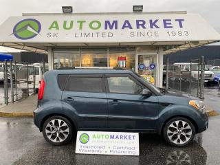Used 2013 Kia Soul 4U! LOADED! LTHR. B-UP CAM. FREE BCAA MBRSHP & WRNTY! IN-HOUSE FINANCE! for sale in Langley, BC