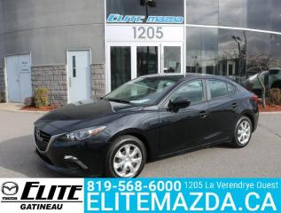 Used 2016 Mazda MAZDA3 GX for sale in Gatineau, QC