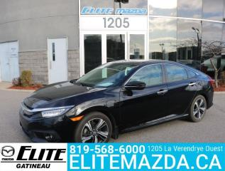 Used 2016 Honda Civic Sedan Touring for sale in Gatineau, QC
