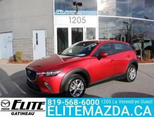 Used 2017 Mazda CX-3 GS for sale in Gatineau, QC