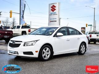 Used 2013 Chevrolet Cruze LT ~Heated Leather ~Power Seats ~Bluetooth ~Camera for sale in Barrie, ON