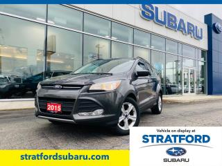 Used 2015 Ford Escape SE for sale in Stratford, ON