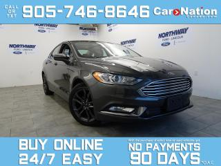 Used 2018 Ford Fusion SE APPEARANCE PKG | LEATHER | NAV | 1 OWNER for sale in Brantford, ON