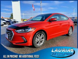Used 2018 Hyundai Elantra GL SE - LOW KMS for sale in Port Hope, ON