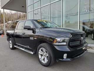 Used 2013 RAM 1500 SPORT , CREW CAB , 4X4 , NAVIGATION , CA for sale in Ste-Agathe-des-Monts, QC