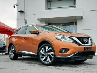 Used 2016 Nissan Murano SL for sale in Kingston, ON