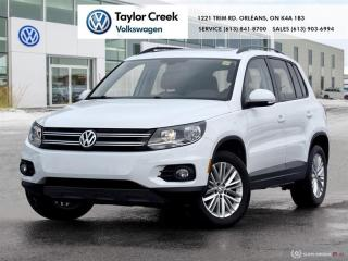 Used 2016 Volkswagen Tiguan Special Edition 2.0T 6sp at w/Tip 4M for sale in Orleans, ON