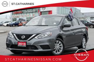 Used 2019 Nissan Sentra 1.8 SV Sunroof | Factory Demo | Auto | Air for sale in St. Catharines, ON
