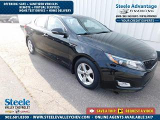 Used 2015 Kia Optima LX- ONLY $60 WEEKLY- ALLOY WHEELS - 1 OWNER !! for sale in Kentville, NS