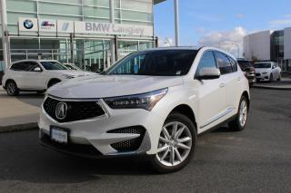 Used 2020 Acura RDX SH-AWD Tech at for sale in Langley, BC