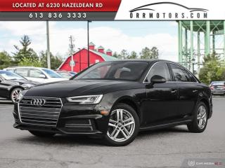 Used 2018 Audi A4 2.0T Technik LOW KMS! TECHNIK PKG for sale in Stittsville, ON