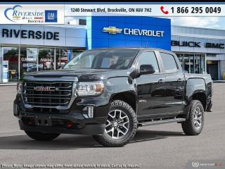 New 2021 GMC Canyon AT4 w/Leather for sale in Brockville, ON