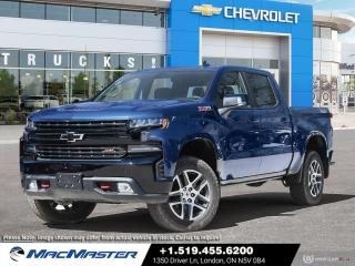 New 2021 Chevrolet Silverado 1500 LT Trail Boss V8 | 4X4 | REMOTE START | HEATED SEATS | LEATHER PKG | HD REAR VISION CAMERA for sale in London, ON