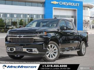 New 2021 Chevrolet Silverado 1500 High Country TECHNOLOGY PKG | NAVIGATION | WI-FI HOTSPOT | POWER SUNROOF | 4X4 | WI-FI HOTSPOT for sale in London, ON
