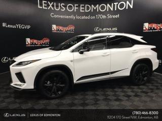 New 2021 Lexus RX 350 BLACKLINE EDITION for sale in Edmonton, AB