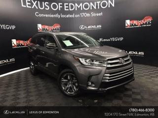 Used 2019 Toyota Highlander LIMITED  for sale in Edmonton, AB