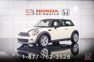 Used 2013 MINI Cooper Hardtop TOIT + SIÈGE CHAUFF. + A/C + WOW ! for sale in St-Basile-le-Grand, QC