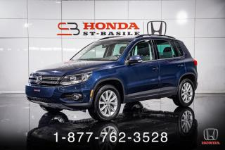 Used 2013 Volkswagen Tiguan HIGHLINE + 4MOTION + CUIR + TOIT + WOW ! for sale in St-Basile-le-Grand, QC