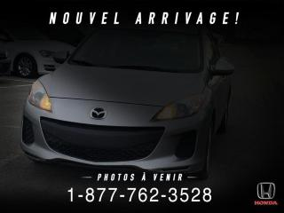Used 2012 Mazda MAZDA3 GS + AUTOMATIQUE + TOIT + WOW ! for sale in St-Basile-le-Grand, QC