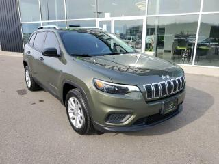 Used 2019 Jeep Cherokee Sport Remote Start, Heated Seats & Wheel, B/U Cam!! for sale in Ingersoll, ON