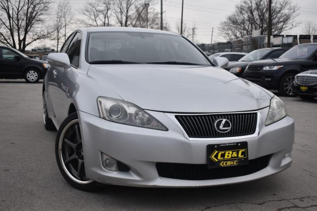 2010 Lexus IS 250 6 SPEED MANUAL