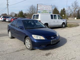 Used 2004 Honda Civic LX for sale in Komoka, ON