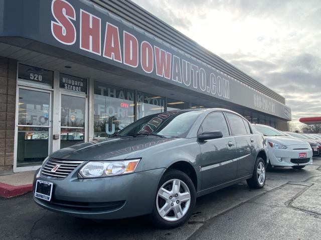 2007 Saturn Ion ION - STANDARD/ CRUISE CONTROL/CD/AM/FM