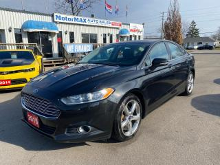 Used 2015 Ford Fusion SE-Accident  Free for sale in Stoney Creek, ON