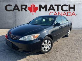 Used 2002 Toyota Camry LE / NO ACCIDENTS / AUTO for sale in Cambridge, ON