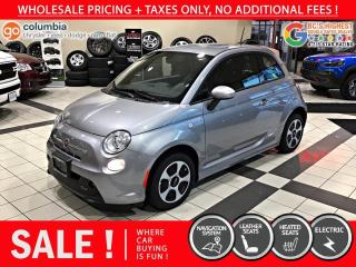 Used 2017 Fiat 500 E 500e for sale in Richmond, BC