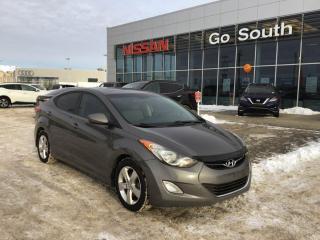 Used 2013 Hyundai Elantra GLS, AUTO, SUNROOF for sale in Edmonton, AB