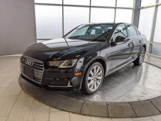 Used 2019 Audi A4 Sedan quattro for sale in Edmonton, AB