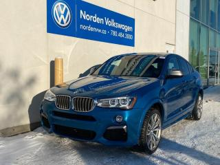 Used 2018 BMW X4 M40i - MSPORT / NAVI / SUNROOF / LEATHER HTD SEATS for sale in Edmonton, AB