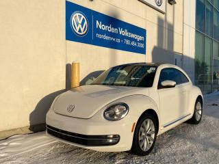 Used 2014 Volkswagen Beetle Coupe 2.0L TDI HIGHLINE DIESEL! TECH / SUNROOF PKG for sale in Edmonton, AB