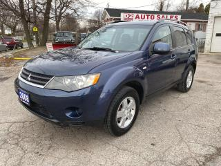 Used 2008 Mitsubishi Outlander LS/Automatic/4x4/Comes Certified for sale in Scarborough, ON