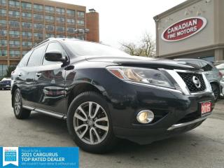 Used 2015 Nissan Pathfinder Pathfinder CLEAN CARFAX | HYBRID | AWD | CAM | P.D.C | 7 PAS for sale in Scarborough, ON