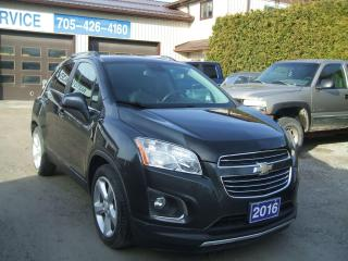 Used 2016 Chevrolet Trax LTZ, AWD for sale in Beaverton, ON