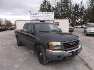 Used 2005 GMC Sierra 1500 E CAB 4X4 for sale in Elmvale, ON