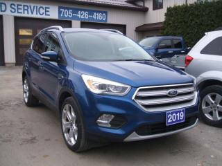 Used 2019 Ford Escape TITANIUM, 4WD for sale in Beaverton, ON