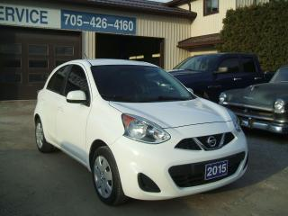 Used 2015 Nissan Micra SV, Hatchback for sale in Beaverton, ON