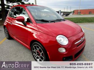 Used 2015 Fiat 500 Sport Hatchback for sale in Woodbridge, ON